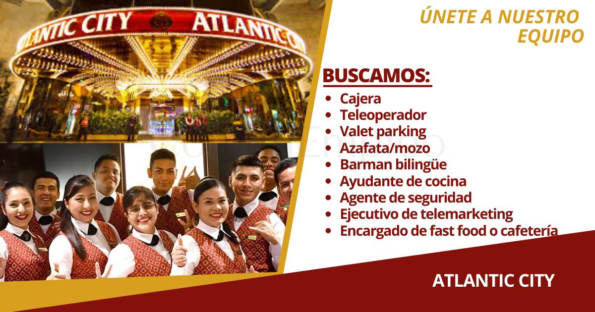casino atlantic city miraflores empleos